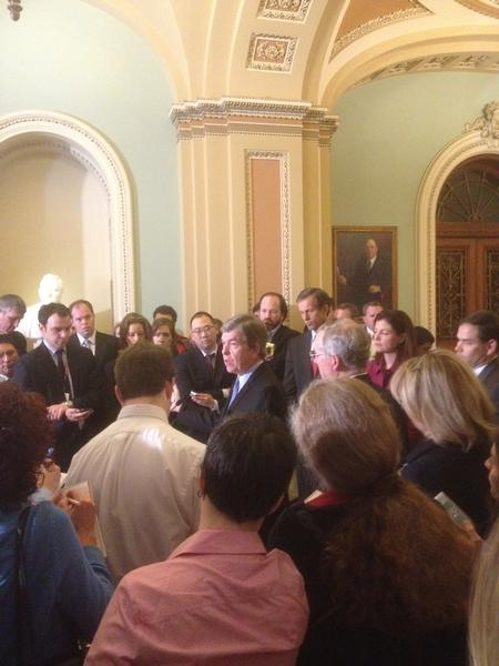 Senator Blunt and fellow senators discuss the Obama administration's assault on religious liberty.